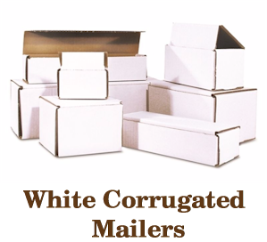 Corrugated White Mailers