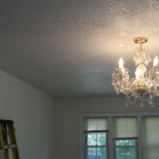 37 A new junction box was installed above this light fixture
