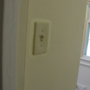 42 A new light switch in the office