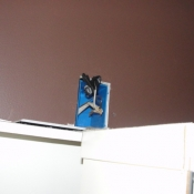 06 Bathroom outlet was removed on the first floor