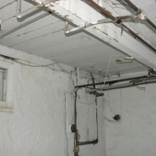 17 Basement laundry room with opened splice boxes and are still alive