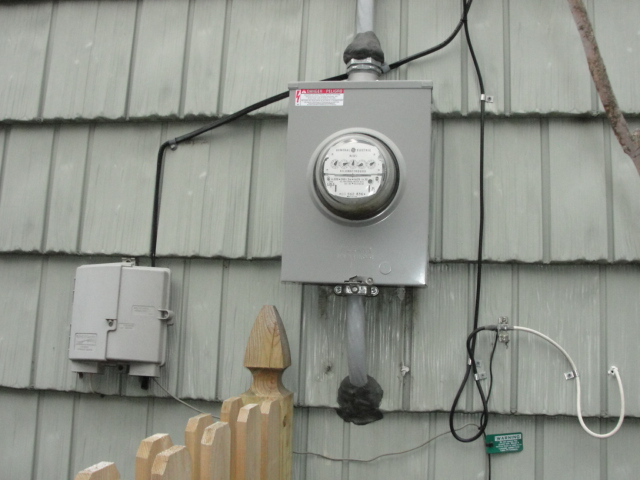 Residential Exterior Electrical Gallery