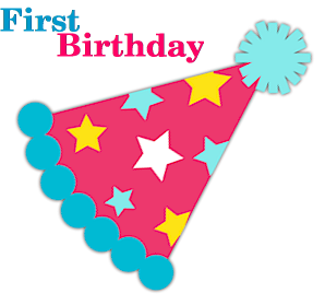 First 1st Birthday Party Supplies