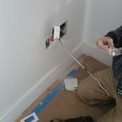 Typical Decora Outlet Installation For Each Apartment