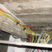 30 No more knob and tube wiring in the ceiling
