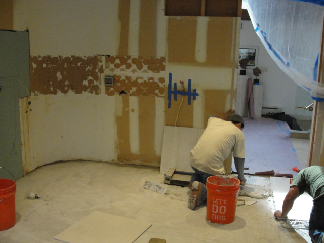 Kitchen renovations gallery richard marton electrician for Kitchen cabinets repair contractors