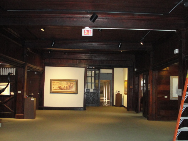 Hiram blauvelt museum gallery richard marton electrician bergen 05 more before pictures of the existing track lighting mozeypictures Images