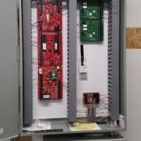 Use Of Panduit Wireways Give A Very Neat And Clean Look To Security Control Wiring