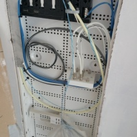 Wiring a Network Interface Boxes Patch Panel and Coaxial Cables