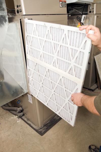 Filtering Systems - Changing Your AIr Filter on a Forced Hot Air Heat and Air Conditioning System